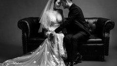 Ngôi sao - 'Chết mê' với ảnh cưới đen trắng 'cực chất' của Khắc Việt và bạn gái DJ