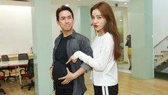 """TV Show -  Hoa hậu Kỳ Duyên tự tin xác nhận """"mang bầu"""" cùng Hứa Vĩ Văn"""