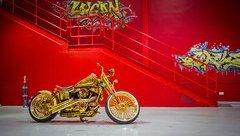"""Xe++ - Ngắm """"núi vàng di động"""" Harley Davidson Custom"""
