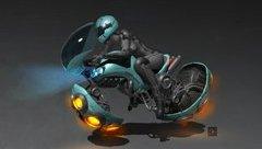 Thú chơi xe - Những mẫu môtô bay quái dị nhất hành tinh