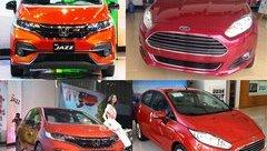 Xe++ - Honda Jazz vs Ford Fiesta: Mèo nào cắn mỉu nào?
