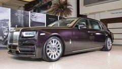Xe++ - Cận cảnh chi tiết sedan siêu sang Rolls-Royce Phantom VIII tại Dubai
