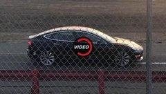 Xe++ - Tesla Model 3 hiệu suất cao lộ diện trên đường thử?