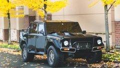 Xe++ - Hàng hiếm SUV LM002 đầu tiên của Lamborghini rao bán 1,134 tỷ đồng