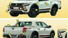 Xe++ - Những điểm mới trên bản đặc biệt Mitsubishi Triton Athlete được hé lộ