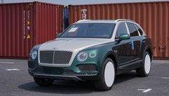 Thú chơi xe - SUV siêu sang Bentley Bentayga màu cực hiếm bất ngờ về Việt Nam