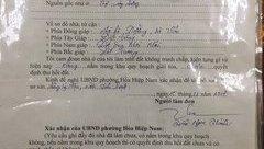 Chính trị - Đà Nẵng: Vì sao chưa thể  buộc thôi việc cán bộ giả chữ ký Chủ tịch phường?