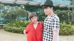 Giải trí - Nathan Lee cùng em gái ''chất lừ'' khi xuống phố