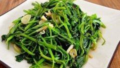 Đời sống - Món ngon mỗi ngày: Tuyệt chiêu làm món rau khoai lang xào tỏi trị nhiều bệnh