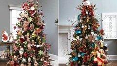 Gia đình - Giáng sinh 2017: 6 cách trang trí cây thông Noel đẹp nhất