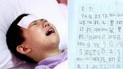 Cộng đồng mạng - Bật khóc với lá thư của bé gái 7 tuổi nguyện chết để mẹ quay về