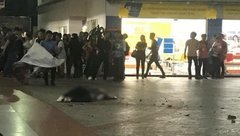 Tin nhanh - Sinh viên tử vong trong sân trường: Do mảng bê tông rơi sau mưa lớn