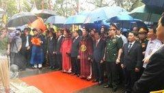 Tin nhanh - Thủ tướng Nguyễn Xuân Phúc cùng các lãnh đạo Đảng, Nhà nước dâng hương  tưởng niệm các vua Hùng