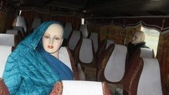 Xã hội - Vạch trần thủ đoạn cho ma-nơ-canh làm hành khách trên xe