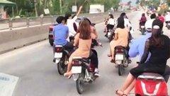An ninh - Hình sự - Triệu tập nhóm thanh niên rước dâu lạng lách, đánh võng trên Quốc lộ 1A