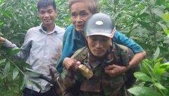 Xã hội - Lạc trong rừng sâu 3 ngày, cụ già 70 tuổi kiệt sức vì đói