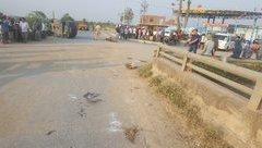 Tin nhanh - Nghệ An: Xe đạp điện va chạm với ô tô, 4 học sinh thương vong