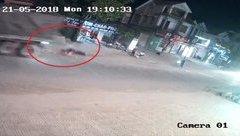 Tin nhanh - Thương tâm bé gái bị xe container cán qua người tử vong