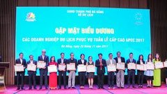 Xã hội - Vinh danh các doanh nghiệp đóng góp vào thành công APEC
