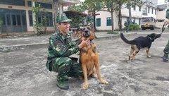 Xã hội - Tâm sự của người vợ chiến sĩ huấn luyện chó