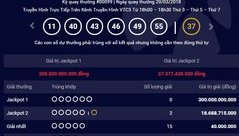 Tiêu dùng & Dư luận - Kết quả Vietlott ngày 20/3: Jackpot 2 nổ cú đúp kỷ lục
