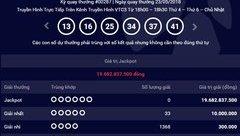 Tiêu dùng & Dư luận - Kết quả Vietlott ngày 23/5: Jackpot tích lũy gần 20 tỷ đồng