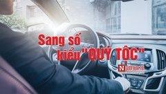 Sau vô lăng - [VIDEO] Sang số ô tô kiểu 'quý tộc' gây bão mạng xã hội