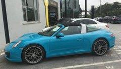 Thị trường xe - Porsche 911 Targa xanh Lemans độc nhất Việt Nam, giá gần 9 tỷ đồng