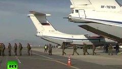 Quân sự - Khoảnh khắc hồi hương huy hoàng của binh sĩ Nga sau chiến thắng IS ở Syria
