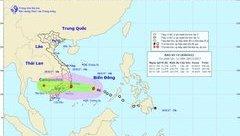 Tin nhanh - Tin mới bão số 14: Bão vào đất liền gây mưa lớn diện rộng