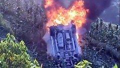 Tin nhanh - Tai nạn kinh hoàng ở Lai Châu, xe ô tô lao xuống vực, 4 người thương vong