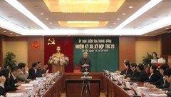 Tin tức - Chính trị - Thông cáo báo chí Kỳ họp 20 của Ủy ban Kiểm tra Trung ương