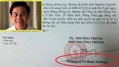 An ninh - Hình sự - Bộ Công an chính thức thông tin vụ Thượng tá Võ Đình Thường