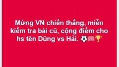 Xã hội - Những kiểu ăn mừng 'gây sốt' sau chiến thắng của U23 Việt Nam