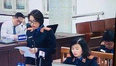 Hồ sơ điều tra - Xét xử bị cáo Đinh La Thăng: VKS giữ nguyên quan điểm truy tố