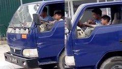 Tin nhanh - Mức phạt cho tài xế xe tải để bé trai 10 tuổi điều khiển