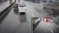 Tin nhanh - Xe cứu hỏa chạy ngược chiều trên đường cao tốc có phạm luật?