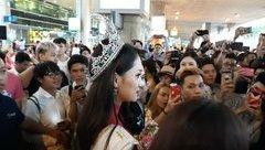 Sự kiện - Hoa hậu Hương Giang xin phép về nước 2 ngày rồi quay lại Thái Lan