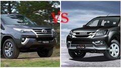 Xe++ - 1 tỷ đồng nên mua Toyota Fortuner hay Isuzu mu-X?