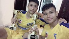 Bóng đá Việt Nam - Xuân Mạnh và Văn Đức quyết tâm lớn trước trận siêu cúp Quốc gia