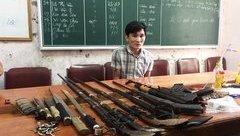 Pháp luật - Đối tượng buôn ma tuý sắm kho vũ khí nóng chống trả công an