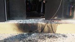 Pháp luật - Biệt thự kề trụ sở công an bị tẩm xăng đốt cháy