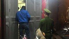 An ninh - Hình sự - Hà Nội: Công an đang lấy lời khai của kẻ táo tợn cướp tiệm vàng trong đêm