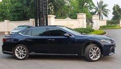 Thú chơi xe - Cận cảnh Lexus LS500h 2018 giá 9 tỷ, biển 'chất' xuất hiện tại Hà Nội