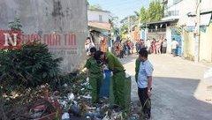 An ninh - Hình sự - Điều tra vụ đầu người trong thùng rác: Nghi phạm thay vỏ xe máy dính máu