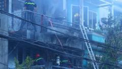Tin nhanh - TP.HCM: Hỏa hoạn thiêu rụi một căn nhà vào ngày mùng 5 Tết