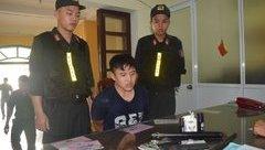 An ninh - Hình sự - Huế: Bắt nam thanh niên tàng trữ ma túy, mang theo súng phòng thân