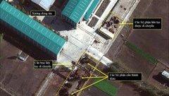 """Quân sự - Ảnh vệ tinh tiết lộ tiến độ đóng tàu ngầm siêu """"khủng"""" của Triều Tiên"""