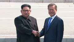 Tiêu điểm - Lãnh đạo Triều Tiên, Hàn Quốc và cái bắt tay lịch sử tại Bàn Môn Điếm