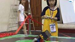 Giáo dục - Khởi động cuộc thi lắp ráp và đấu đối kháng robot lần 3 tại Hà Nội